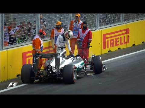 Lewis Hamilton's weekend unravels in Azerbaijan | F1 Vault
