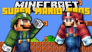 Minecraft: SUPER MARIO BROS MOD (Super Smash Bros, With New Mobs)Mod Showcase