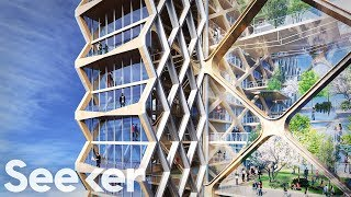 Skyscrapers Of The Future Will Be Engineered To Copy Nature