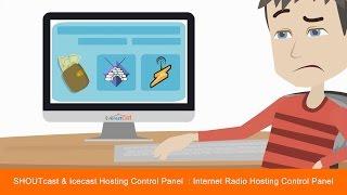 SHOUTcast Hosting Control Panel & Icecast Hosting Control Panel