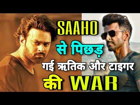 Saaho के Action के आगे पानी मांगेगी War, Hrithik Roshan, Tiger shroff पर भारी Prabhas, Saaho Vs War