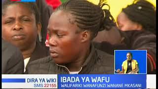 Ibada ya wafu ya wanafunzi waokufa katika Shule ya Precious Talent Academy