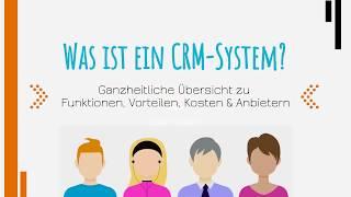Was ist ein CRM-System?