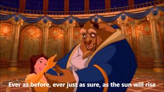 Beauty and The Beast/Tale As Old As Time Lyrics - Beauty and the Beast