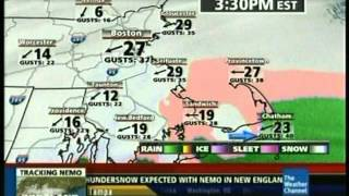 The Weather Channel Winter Storm Nemo Coverage + Piscataway, NJ Local on the 8s 2/8/13 3:28 PM