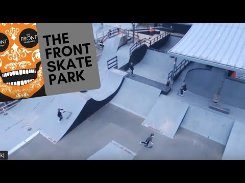 The Front Skate Park UK - Weymouth in Dorset Best Day Out