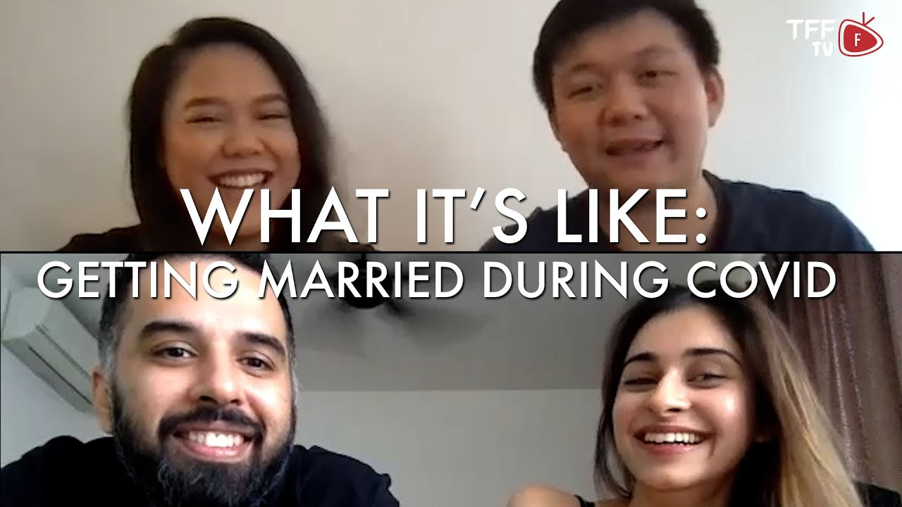 What It's Like: Getting Married During COVID-19