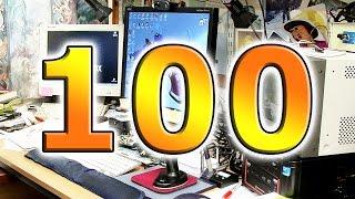 100th Video Desk Tour