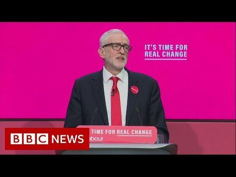 UK Election 2019: Labour Manifesto Launch - BBC News