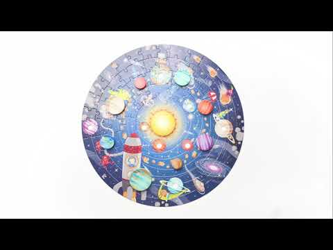Youtube Video for Solar System Puzzle