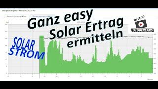 Digitale Energie Ermittlung mit der Fritz DECT 210 Fritzbox avm Solar Strom Ertrag auslesen