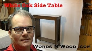 Easy Build Mission Side Table   (WnW #34)