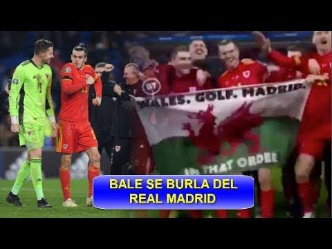 GARETH BALE SE BURLA DEL REAL MADRID