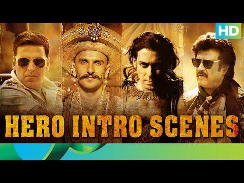 Download Hero Intro Scenes | Rajinikanth, Salman Khan, Ranveer Singh, Akshay Kumar HD Video