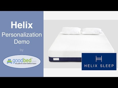 Helix Mattress Personalization Demo (VIDEO)