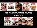 All 9 American Pie Movies Ranked (Worst to Best) (W/ Girls' Rules 2020)