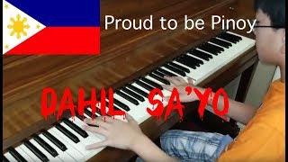 Inigo Pascual - Dahil Sa'yo Piano Cover