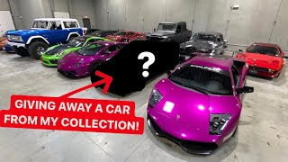 WIN ONE OF MY CARS ABSOLUTELY FREE!  *NO PURCHASE REQUIRED
