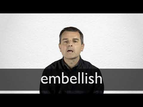 Spanish Translation Of Embellish
