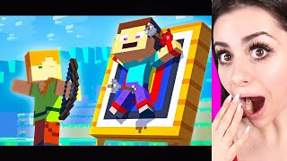 Reacting to MINECRAFT THE MOVIE