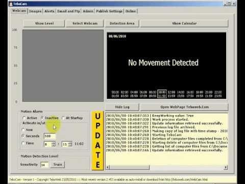 TeboCam, usare il computer per videosorvegliare una stanza
