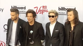 "One Direction, One Direction ""Billboard Music Awards 2015"" Red Carpet Arrivals"