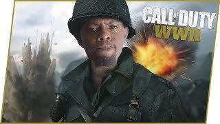 MY FIRST ONLINE MATCH! - Call of Duty World War 2 Gameplay
