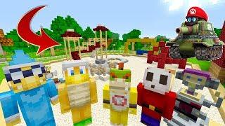 PLAYGROUND WAR! [RECESS!] - Super Nintendo School - (Minecraft Switch) [2]