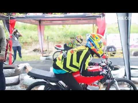 Satlantas Tangsel Gelar Drag Bike Competition