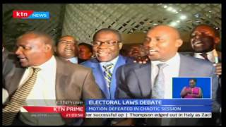 KTN Prime: MP's set to hold a second sitting to push for the Election Laws amendment