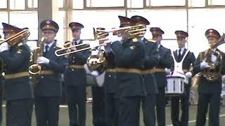 Военный оркестр Московского гарнизона.