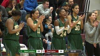 Highlights: New London 59, East Lyme 34