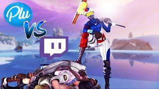 Killing Twitch Streamers #11 - Fortnite Battle Royale