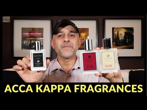 Acca Kappa: Muschio Bianco, Black Pepper & Sandalwood + Calycanthus Impressions + Bottle Giveaway