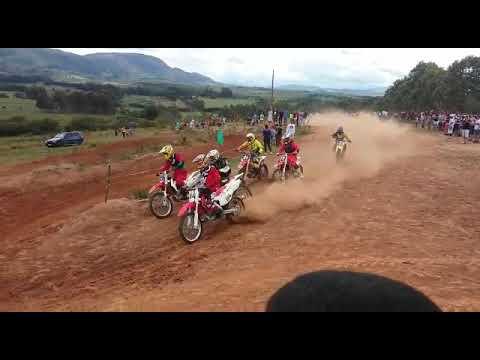 Motocross em Andrelândia-MG/ Largada da categoria MX1