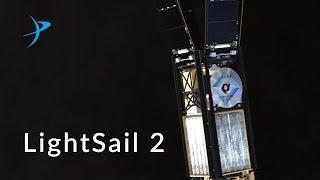 LightDail 2 da Planetary Society, lançamento em junho/2019