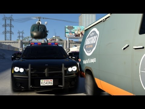 +++ GTA V +++ The Heist and the Getaway +++ The brand new Fan-Made-Video +++