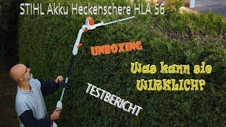 Testbericht STIHL Akku Heckenschere HLA 56