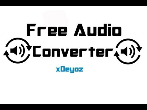 "How To Do ""Audio Converter"" (mp3,wav,wma Usw.) FREE - Tutorial [German] [HD] Mp3"