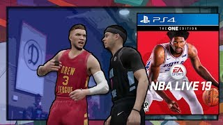 REASE REACTS: YOU CAN FIGHT IN NBA LIVE 19!! GAMEPLAY TRAILER!!