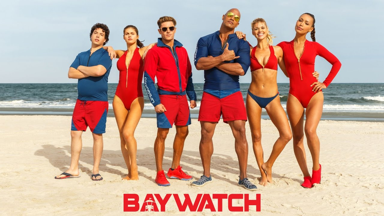 The New 'Baywatch' Posters Are Ridiculous