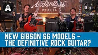 New Gibson SG Standard & Tribute - The Definitive Rock Guitar?