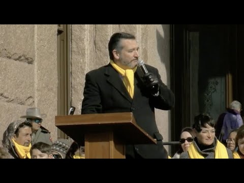 VIDEO: Sen. Cruz Addresses the 2019 Texas School Choice Week Rally in Austin, Texas
