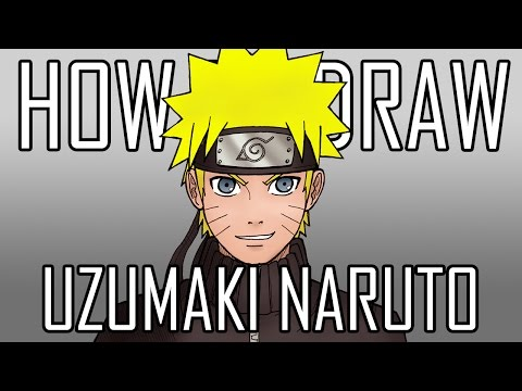 Draw Naruto - Quick Simple Easy How To Steps For Beginners 14