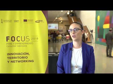 Esther Moratalla de Iristrace, en #Focuspyme Conectando Startups[;;;][;;;]