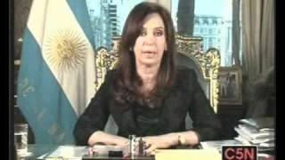 Habla Cristina En Cadena Nacional Tras La Muerte De Néstor Kirchner