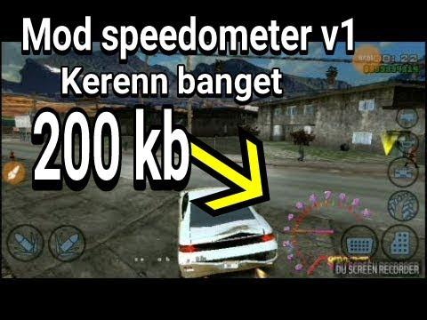 KEREN BANGET!!Spedometer gta sa cuma 200kb - Музыка для Машины
