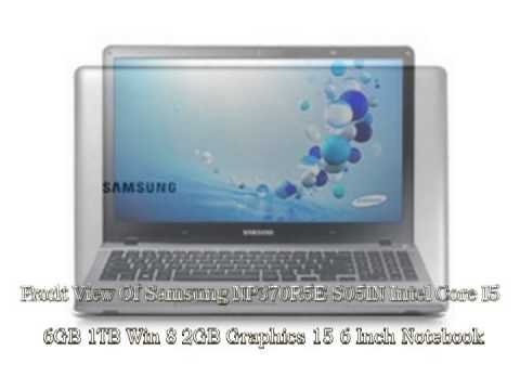 Samsung NP370R5E-S05IN Intel Core i5/6GB/1TB/Win 8/2GB Graphics/15.6 Inch Notebook