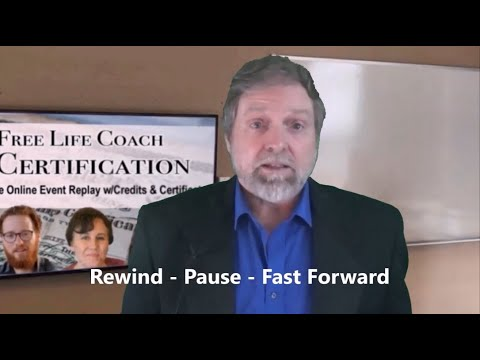Free Life Coach Certification Event Watch and Receive Certificate ...