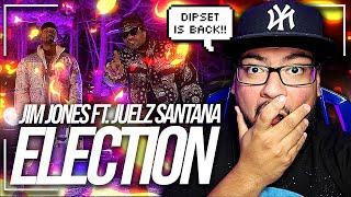 Jim Jones - Election (Official Video) ft. Juelz Santana, Marc Scibilia REACTION! | DIPSET IS BACK! 😱